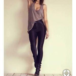 American apparel disco pants!!